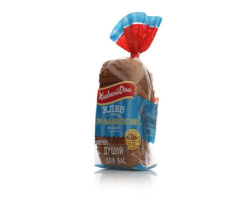 Хлеб Украинский Новый в нарезке ТМ Хлебный дом