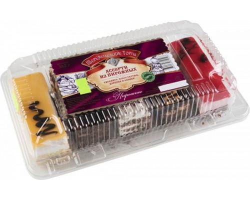 Набор пирожных ассорти ТМ Шереметьевские торты, 382 г