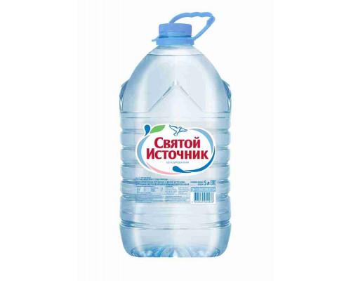 Вода питьевая Святой Источник н/газ стол 5л пэт
