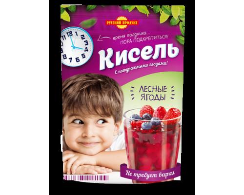 Кисель ТМ Русский Продукт Лесные ягоды, 150 г
