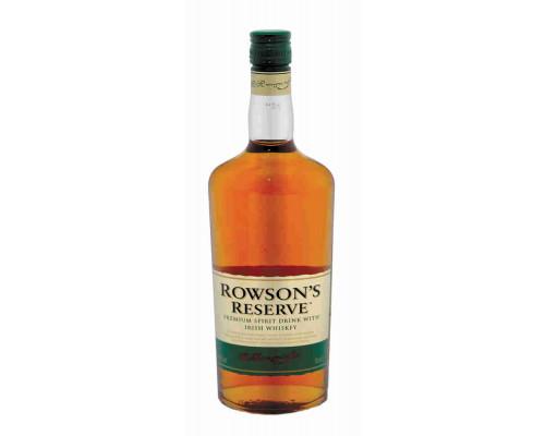 Напиток крепкий висковый Роусонс Резерв 40% 0.7л ROWSON`S RESERVE