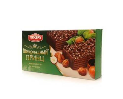 Торт вафельный с фундуком ТМ Шоколадный принц