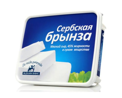 Сербская брынза ТМ Mlekara Sabac (Млекара Шабац) 250 г