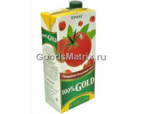 Сок ТМ 100% Gold Premium томат, 1,93 л