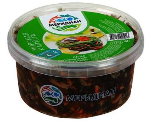 Салат из морской капусты Витаминный сочный ТМ Меридиан, 450 г