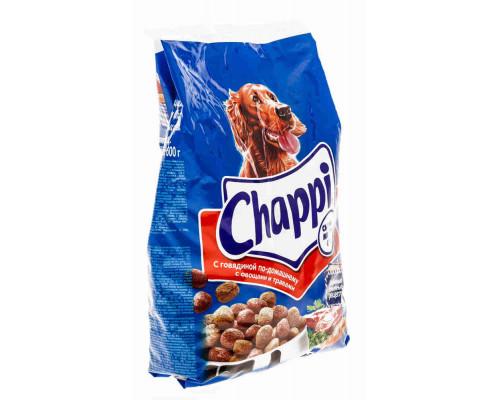 Корм д/собак Chappi говядина сухой 600г