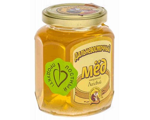 Мед липовый Кедровый Бор Дальневосточный 245г