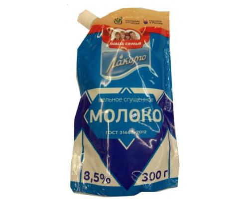 Сгущённое молоко Лакомо, 8.5%, 300 г