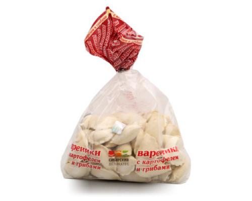 Вареники с картофелем и грибами ТМ Мамины