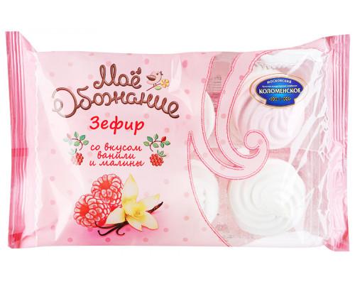 Зефир Мое Обожание, бело-розовый, со вкусом ванили и малины, 250 г