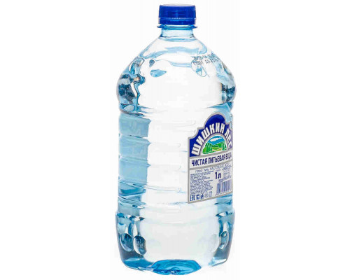 Вода питьевая Шишкин лес н/газ 1л пэт