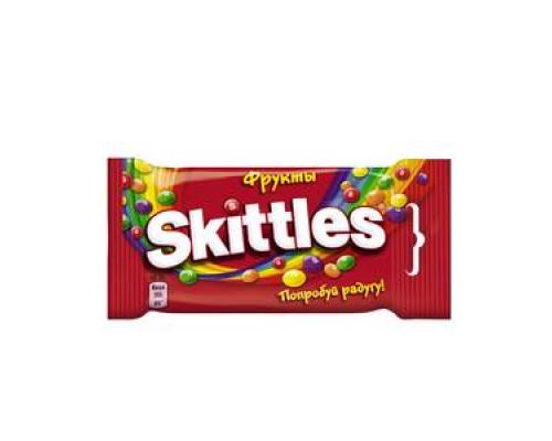 Драже в сахарной глазури ТМ Skittles