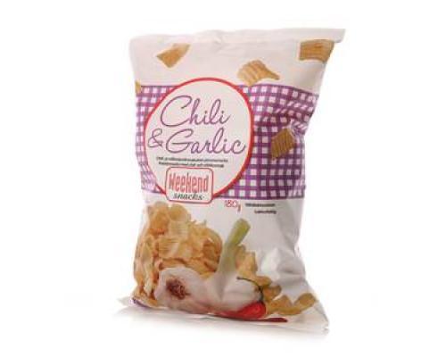 Снеки со вкусом чили и чеснока ТМ Weekend snacks (Викенд снэкс)