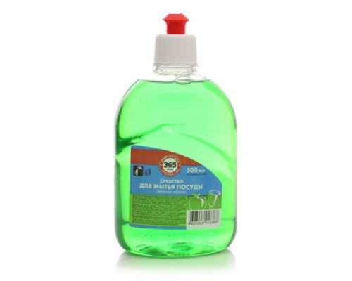 Средство для мытья посуды Зеленое яблоко ТМ 365 дней