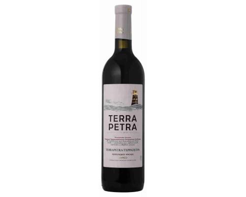'Вино столовое полусладкое красное ''TERRAPETRA/ТЕРРАПЕТРА''. 0.75л 10-12%'