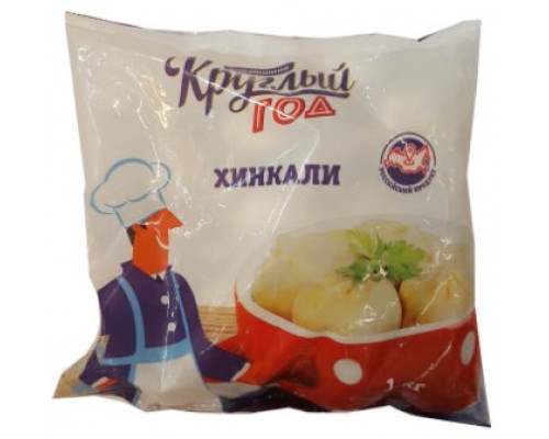 Хинкали Круглый год Аппетитно, кат. B, 1 кг