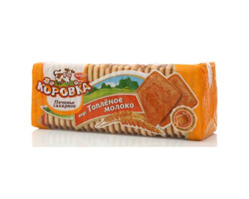 Печенье сахарное со вкусом топленого молока ТМ Коровка