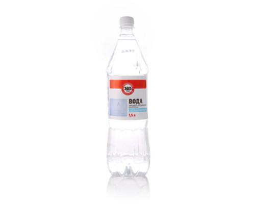 Вода питьевая артезианская первой категории негазированная ТМ 365 дней
