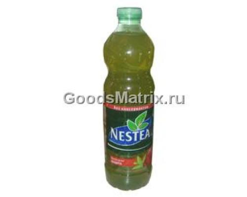 Чай зеленый ТМ Nestea (Нести) Клубника и алоэ вера, 1.5 л