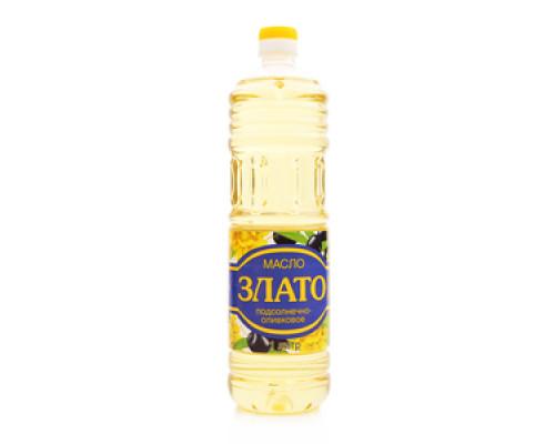 Масло подсолнечно-оливковое ТМ Злато