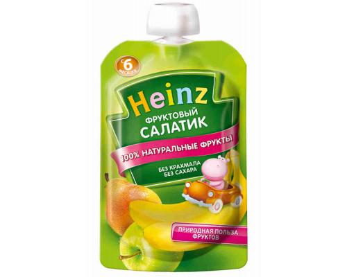 Пюре Heinz фруктовый салат с 6мес 100г д/п