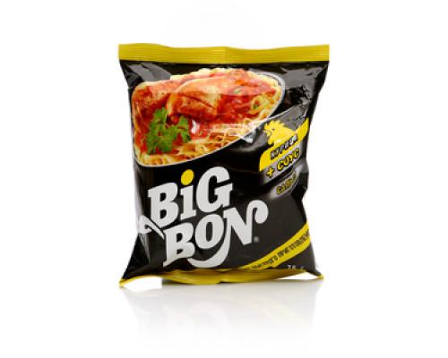 Лапша ТМ Big Bon (Биг Бон), быстрого приготовления курица-сальса 75 г
