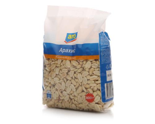 Арахис жареный с солью ТМ Aro (Аро)