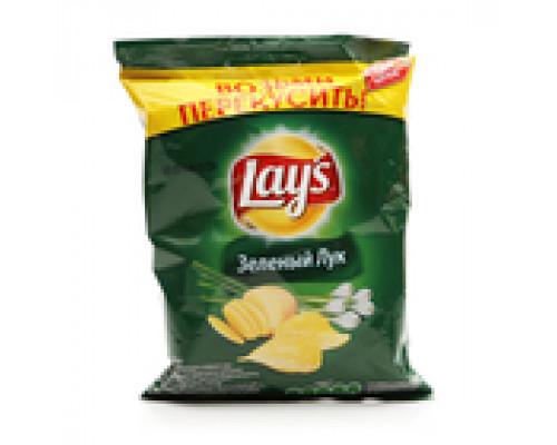 Чипсы Lays Зеленый лук ТМ Lays (Лэйс), 40 г