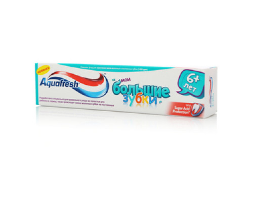 Зубная паста Мои большие зубки ТМ Aquafresh (Аквафреш)