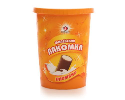 Мороженое пломбир 'Филевская Лакомка' ТМ Айсберри