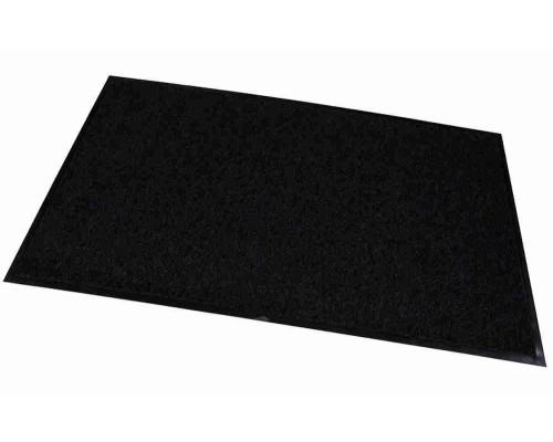 Коврик д/прихожей RemiLing Multy черный/коричневый 90х150см