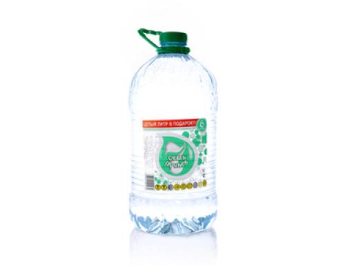 Вода артезианская минеральная из скважин ТМ Семь ручьев