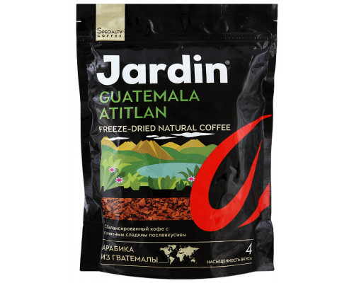 Кофе ТМ Jardin Guatemala Atitlan (Жардин Гватемала Атитлан) сублимированный 150 г