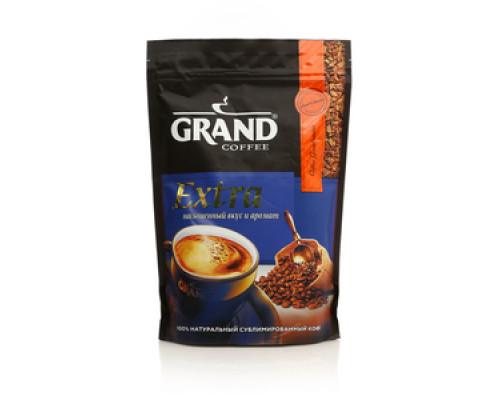 Кофе натуральный растворимый сублимированный Гранд экстра ТМ Grand (Гранд)