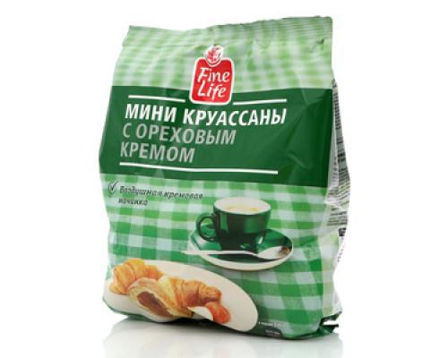 Мини круассаны с ореховым кремом ТМ Fine Life (Файн Лайф)