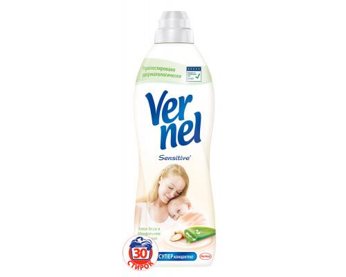 Кондиционер для белья Vernel Natural Детский Алоэ Вера, 910 мл