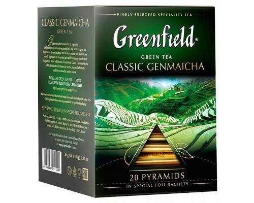 Чай зеленый ТМ Greenfield (Гринфилд) Genmaicha, 20х1,8 г