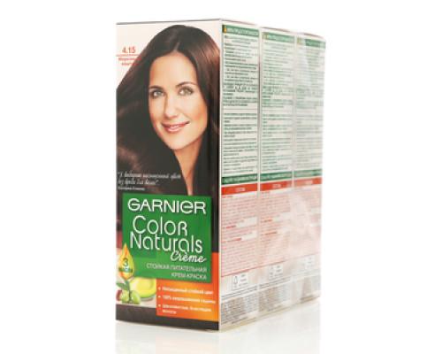 Крем-краска стойкая питательная морозный каштан Garnier color naturals creme (гарниер колор натуралс крем) ТМ Garnier
