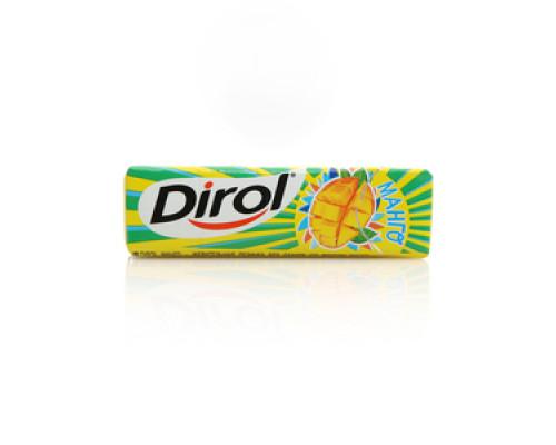 Жевательная резинка без сахара со вкусом манго ТМ Dirol (Дирол)