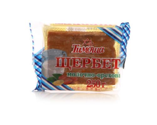 Щербет молочно-ореховый ТМ Тимоша