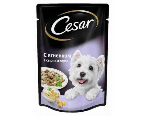 Корм д/собак Cesar ягненок в сырн соусе 100г