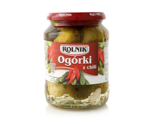 Огурцы с паприкой чили ТМ Rolnik (Ролник)