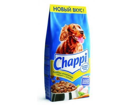 Корм сухой для собак ТМ Chappi (Чаппи) Сытный мясной обед, курочка аппетитная, 15 кг