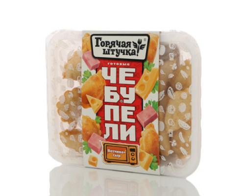Готовые чебупели Ветчина+сыр ТМ Горячая штучка