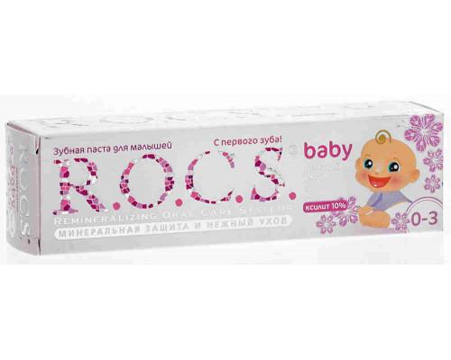 Зубная паста Рокс аромат липы д/малышей 0+, 45г