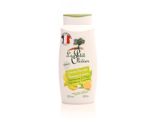 Нежный крем для душа вербена-лимон ТМ Le Petit Olivier (Лё Петит Олив)