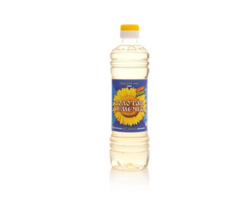 Масло подсолнечное рафинированное дезодорированное ТМ Золотая Семечка
