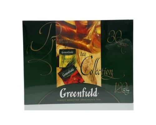 Набор чая и чайных напитков ТМ Greenfield (Гринфилд) Premium tea Collection, 120 пакетиков