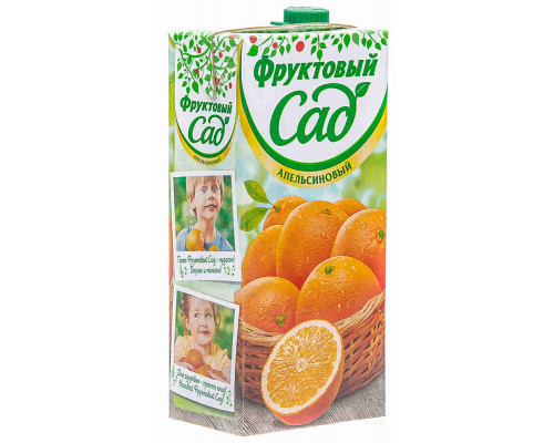 Нектар Фруктовый Сад апельсин 1.93л т/п