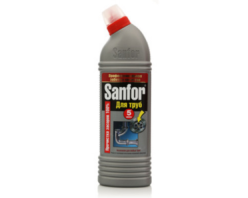 Средство для очистки канализационных труб Sanfor для труб ТМ Sanfor (Санфор)